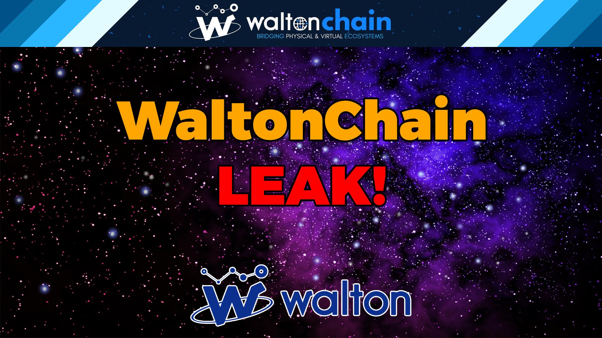 WaltonChain leak